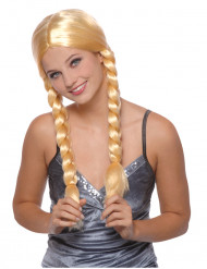 Perruque Eva blonde femme