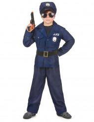 Déguisement policier luxe garçon
