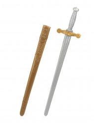 Epée chevalier médiéval