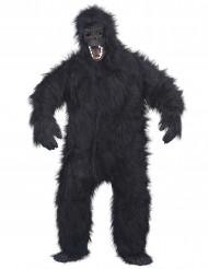 Déguisement gorille noir adulte