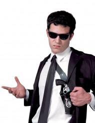 Porte revolver FBI adulte en plastique