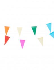 Guirlande fanions multicolores 10mètres