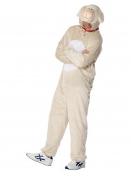 Déguisement mouton adulte