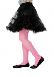 Collants roses enfant