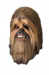 Masque de luxe Chewbacca Star Wars™ adulte