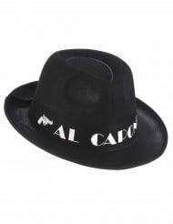 Chapeau borsalino Al Capone noir adulte