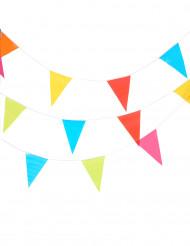 Guirlande multicolore en papier 10 m