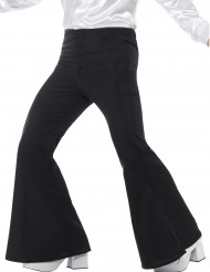 Pantalon disco noir homme