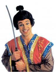Perruque courte samouraï  homme