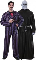 Déguisements officiels couple Gomez & Fétide Addams