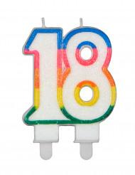 Bougie d'anniversaire chiffres