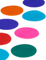 Confettis géant multicolores