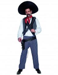 Déguisement bandit mexicain homme