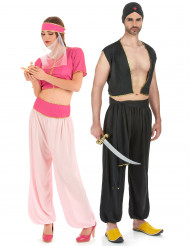Déguisement couple oriental