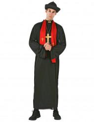 Déguisement prêtre avec étole homme