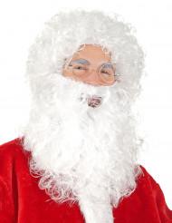 Barbe et perruque du père Noël
