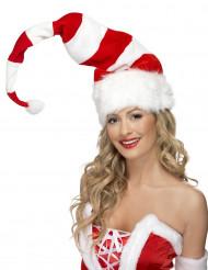Bonnet Noël rayé adulte
