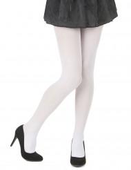 Collants opaques blancs femme
