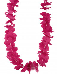Collier Hawaï rose