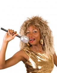 Perruque chanteuse rock célèbre femme