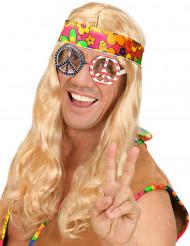 Lunette hippie Amérique adulte