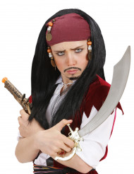 Perruque pirate enfant