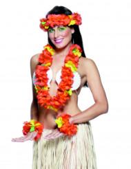 Kit rouge Hawaï