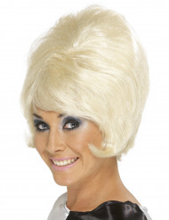 Perruque blonde beehive femme