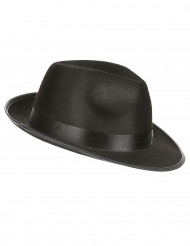 Chapeau gangster noir