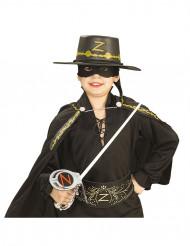 Kit Zorro™ Epée en plastique, masque et chapeau enfant