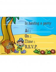 Invitations pirate