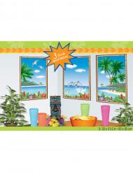 Décorations murales île paradisiaque