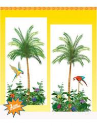 Décorations murales palmiers
