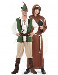 Déguisement couple Robin et moine des bois