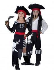 Déguisement couple pirates enfants