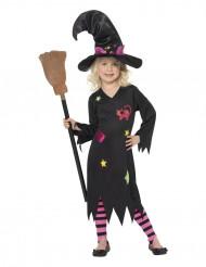 Déguisement sorcière chat fille Halloween