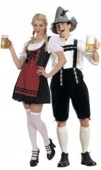 Déguisement couple de bavarois