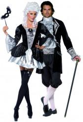 Déguisement couple baroque vampires Halloween