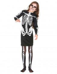 Déguisement squelette fille Halloween