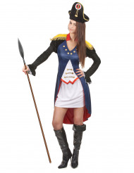 Déguisement soldat française femme