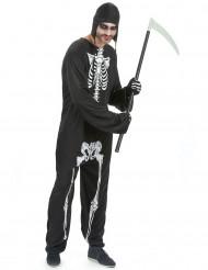 Déguisement squelette  homme Halloween