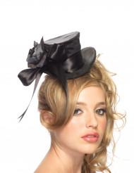 Mini chapeau haut de forme femme