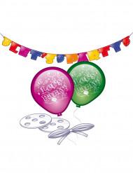 Set de décoration Let's party