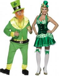 Déguisement couple Irlandais