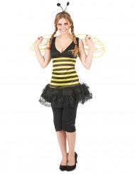 Déguisement abeille femme à rayures