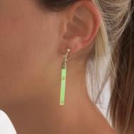 Lot de 5 paires de boucles d'oreilles lumineuses