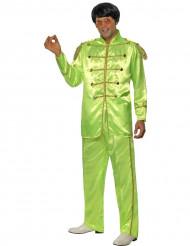 Deguisement Sgt Peppers™ homme vert