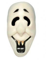 Masque fantôme souriant adulte Halloween