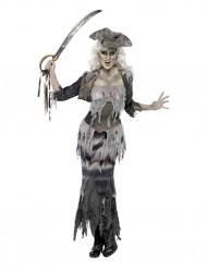 Déguisement fantôme pirate femme Halloween