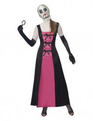 Déguisement poupée visage recousu adulte Halloween